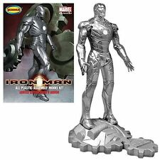 MOEBIUS 1.8 Scale Iron Man Mark 2 Chrome Metal Finish Limited Edition Model.