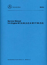MERCEDES-BENZ 4.2 & 5.6 Litre Engine Car Shop Manual paper S2466-000