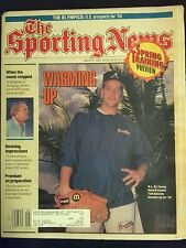 March 2 1992 The Sporting News  Tom Glavine  Braves