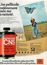 Publicité 1977  AGFA-GEVAERT pellicule Agfacolor CNS