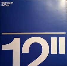 """Bedrock 12"" (King Unique & Anthony Pappa,Quivver,C. Smith,Wehbba"" *Bed12, 3/3"