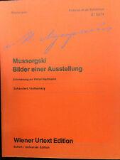 Mussorgski Bilder einer Ausstellung