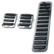 Custom pedal covers, VW beetle, buggy, bay window etc set of 3