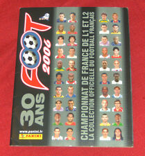 Album Foot Panini 30 Ans Ligue 1 Equipe de France 2006 à 81 % complet