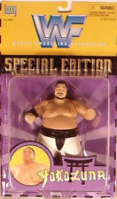 WWF WWE Classic Special Edition BC Superstars Yokozuna (Yellow Card) Jakks (MOC)