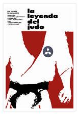 "Cuban decor Graphic Design movie Poster 4 film""LEYENDA del Judo""Martial Arts"