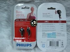 Philips SHE1360 In-Ear Headphones SHE 1360 Bass Vents Earphones