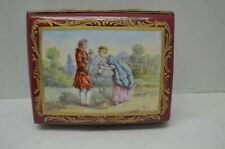 Antique Sevres Porcelain Box with 18th Century Roche Painted Scene