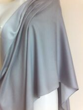WEDDING SILK SILVER WRAP  SCARVES SHAWLS SHAWL NIGHT PARTY PASHMINA GIFT XCMAS