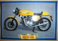 DUCATI 750 SPORT VINTAGE CLASSIC  MOTORCYCLE BIKE 1970'S PICTURE 1973