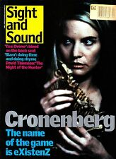 Sight and Sound April 1999 David Cronenberg Existenz The Night of the Hunter