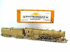 Sunset HO Brass GN Great Northern O-8 2-8-2 (Open Cab) Locomotive & Tender