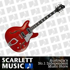 Hagstrom Super Viking Semi Hollowbody Electric Guitar Wild Cherry *BRAND NEW*