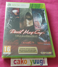 DEVIL MAY CRY HD COLLECTION XBOX 360 NEUF SOUS BLISTER FRANCAIS