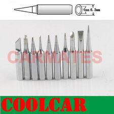10 PCs Soldering Iron Station TIPs Rework Solder Lead Free For AOYUE 768 936 968