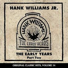 Hank Williams, Jr. - Early Years double play 2-record (Cassette, 1986, Curb)