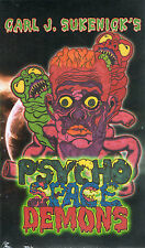 Psycho Space Demons VHS Carl J. Sukenick Dead Format Films Shot On Video