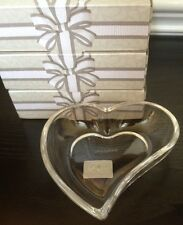 Celebrations by Mikasa Heart Shaped Plate, Glass, Favor, Gift