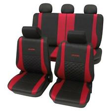 Exclusive Red & Black Luxury Car Seat Covers - For Mazda 3 2003 To 2009