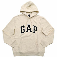 Gap Hoodie Mens Pullover Sweatshirt Fleece Applique Arch Logo Xs S M L Xl Xxl