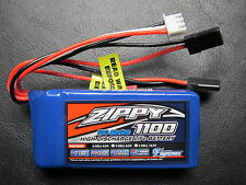 ZIPPY 1100mAh 2S 6.6V 10C LiFe Po4 BATTERY PACK FUTABA JR RECEIVER RX LiFePo4 RC