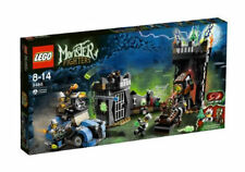 NIB LEGO MONSTER FIGHTERS THE CRAZY SCIENTIST & HIS MONSTER - 9466