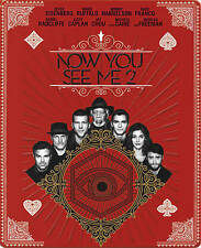 Now You See Me 2 (Blu-ray/DVD, + Digital Copy, 2016 SteelBook Edition) BRAND NEW