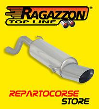 RAGAZZON TERMINALE SCARICO OVALE 135x90mm ALFA MITO 1.4 TB 170CV Multiair 2010