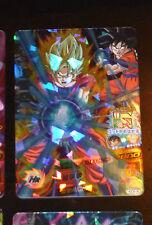 DRAGON BALL Z GT DBZ HEROES GOD MISSION CARD PRISM CARTE HGD9-36 SR DBH JAPAN M