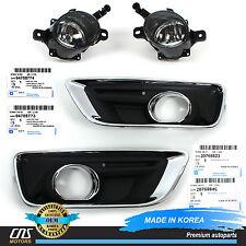 GENUINE Fog Light Cover & Fog Lamp Bezel Set 13-15 Chevrolet Chevy Malibu