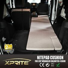 NitePad Camping Bed Mattress Pad Cushion 07-16 Jeep Wrangler JKU 4 Door BLACK