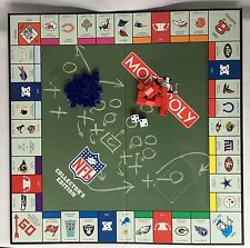 2003 Monopoly NFL Football Replacement Game Pieces Houses Hotels Dice And Board