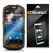4X EZguardz LCD Screen Protector Skin Cover Shield HD 4X For Runbo Q5 (Clear)