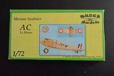 1/72 morane saulier AC Le Rhone-Rare Omega Model