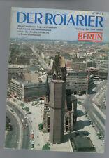 Der Rotarier - Berlin Heft 6 - 1984