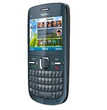 Nokia C Series C3-00 - Slate gray (Unlocked) Cellular Phone WiFi Free Shipping