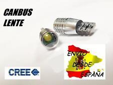 2X BOMBILLAS LED CREE 5W T10 W5W CANBUS CON LENTE BLANCO PURO ULTIMA GENERACION
