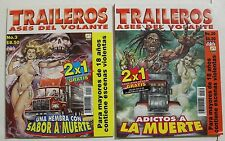TRAILEROS MEXICAN COMIC, 2 COMICS SET, MEXICO HISTORIETAS