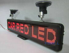 "Car 21"" Red Programmable LED Scrolling Moving Message Sign Display Indoor Board"