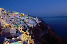 571007 Fira Santorini Greece A4 Photo Print