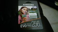 MicroSDXC EVO Select Memory Card w/ Adapter 256GB