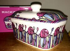 Contemporary Fine China Butter Dish Fridge Butter Storage New & Boxed Quality