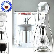 Tiamo Cold Brew Drip Water Dutch Coffee Maker 10 Cups Heat Resistant Glass New