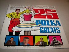 25 POLKA GREATS VOL 1 VARIOUS ARTISTS LP EX K-TEL C10123 1971