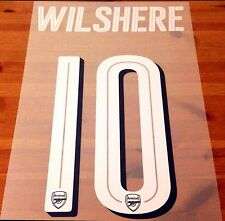 Oficial Arsenal FA Cup 2016-17 & UCL Home Camisa Wilshere #10 nombre número Set