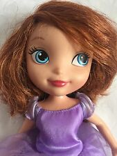 Sofia The First Disney Princess 11 Inch Plastic Doll With Dress