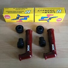 HONDA CB250 N CB400 N SUPER DREAM CB450 DX CM250 NGK SPARK PLUG CAPS FREE POST!