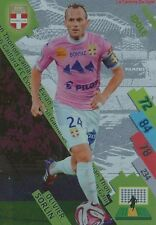 ETG-14 OLIVIER SORLIN # IDOLE EVIAN THONON CARD ADRENALYN FOOT 2015 PANINI