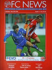 Programm 2005/06 OFC Offenbacher Kickers - FC Saarbrücken