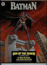 Batman Son of the Demon DC Comics LTD  Bingham Barr Signed Hardcover Book 1987